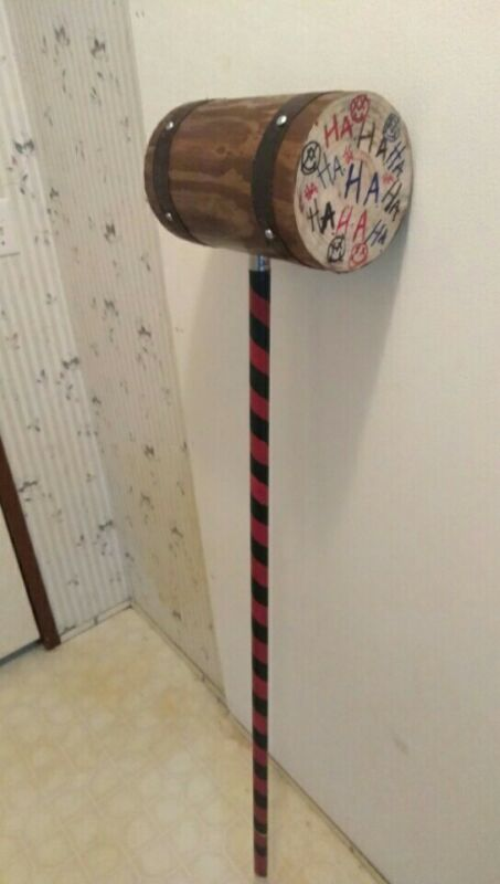 real wood classic harley quinn mallet