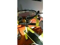Badminton Racket Stringing