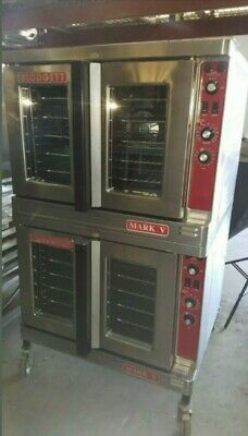Blodgett Double Stack Mark V Convection Ovens Gas Warranty