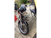 Yamaha YBR Custom 125cc ONO