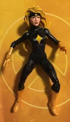 Marvel Legends Custom DARK STAR - woman Captain Black widow Crimson Dynamo