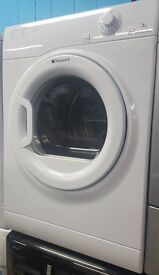 A383 white hotpoint 7kg vented tumble dryer comes with warranty can be delivered or collected