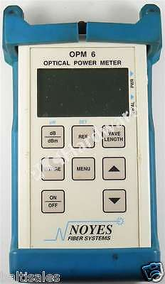 Noyes Opm 6-3 Opm6-3 Optical Power Meter