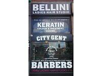 barber / ladies hairdresser