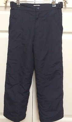 the Childrens Place Blue Ski Snow Pants Adjustable Insulated Cinched Ankles 5