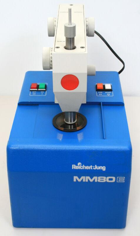 Leica Reichert-Jung MM80-E EM Metal-Mirror Cryofixation Unit 702302