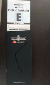 Goodwood Festival of Speed Electric Camping Ticket