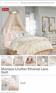 Pottery barn Monique lhullier + mattress
