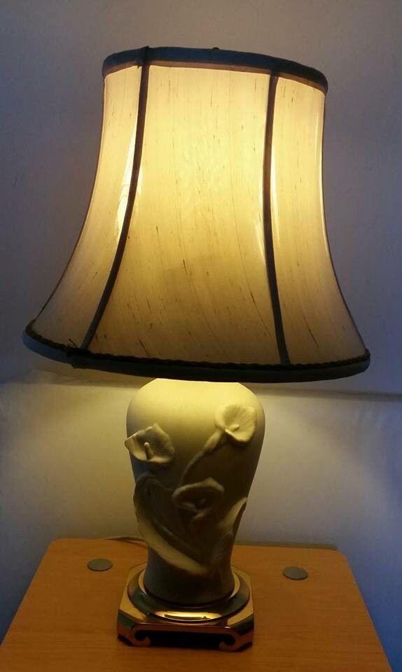 Beautiful ornate table lamp