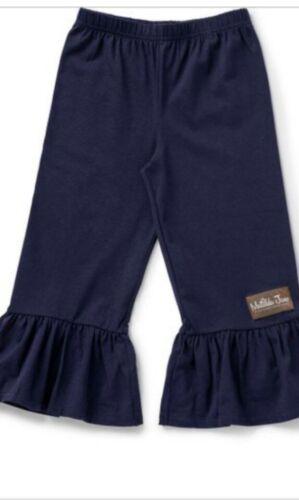 Matilda Jane Aubrey Big Ruffles Pants Size 4 Girls Black Style #26221B