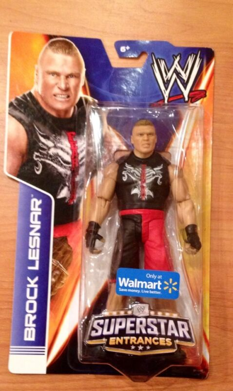 Brock Lesnar. Wwe Mattel Superstar Entrances . ( Walmart Exclusive )