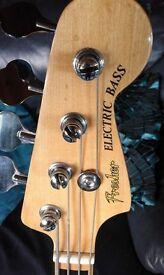 "Fresher ""Fenderfaker"" Jazz Bass Made in Japan by Matsumoto Guitars Circa 1978 - full of mojo!!!"