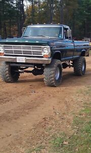 1967-1972 Ford F-250 4x4 roller chassis