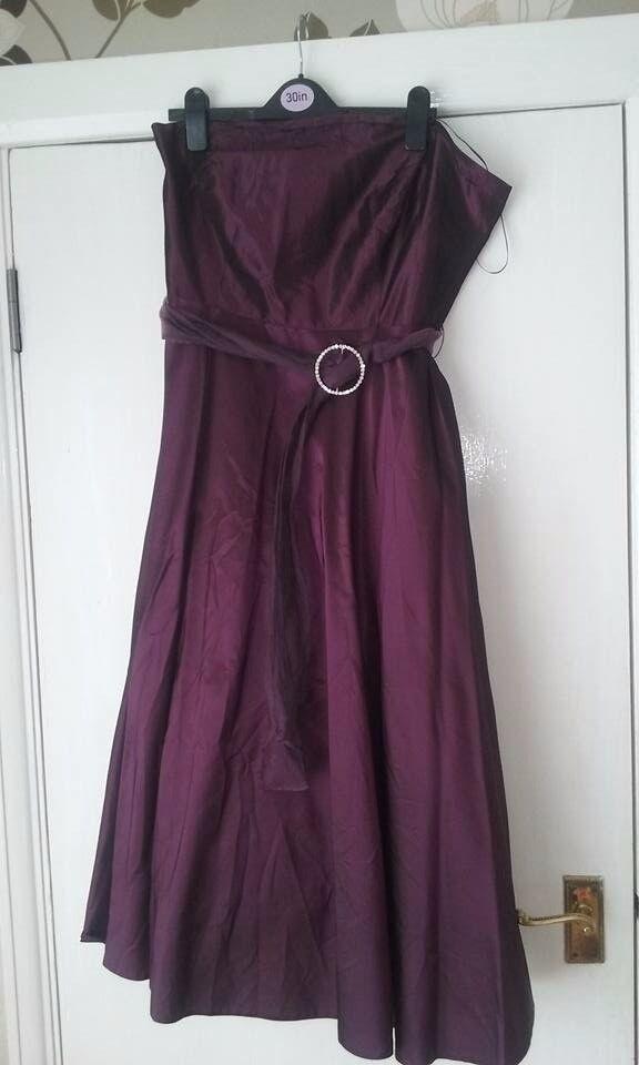 Beautiful formal evening dress, size 16