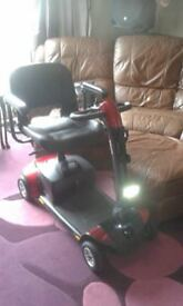 MOBILITY SCOOTER PRIDE GOGO ELITE TRAVELLER LX GOOD BATTERIES GREAT CONDITION