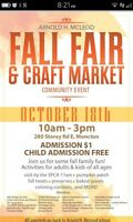 Fall Fair & Craft Market - Arnold H McLeod School