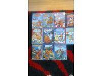 11 Scooby Doo DVDs