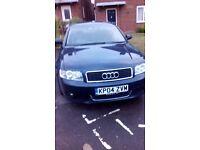 Audi a4 2.5 tdi semi auto 95000 miles