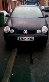 VW Polo Black 1.4 good little runner only cheap due to cosmetics
