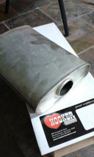 "performance muffler 2 1/2"" suit ford holden v8 308 351 350 302 Para Hills Salisbury Area Preview"