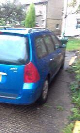 Peugeot 307 sw ***12 months mot**