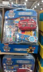childrens toys and stationery sets