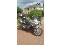 Honda cbf 1000 full honda matching luggage sports tourer.2010 model