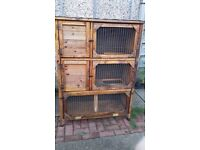 REDUCED PRICE rabbit hutch and extras