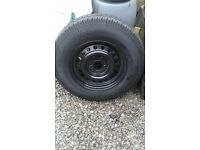 "New Caravan 14""Spare Wheel and Tyre..£70.o.n.o."