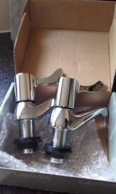 One pair still boxed Lavata 3/4 inch modern bath Taps