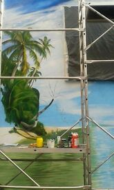 Painter, Decorator, Mural, Gold leaf, Glaze, Wall painting, Scenic Painting and more