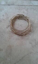 hand made 6 strand brass rabbit snares