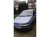 Fiat Punto 1.2 Active 03 Plate Low Milage