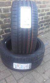 2 BRAND NEW TYRES - CONTINENTAL SPORT CONTACT 5 255/35 ZR 19 XL (96Y)