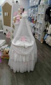 Crib large with stand