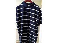 3 Ralph Lauren Polo shirts xxl custom fit