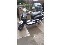 125cc learner legal scooter 12 months mot