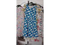 cath kidston cloud dress,size8-10, can post .