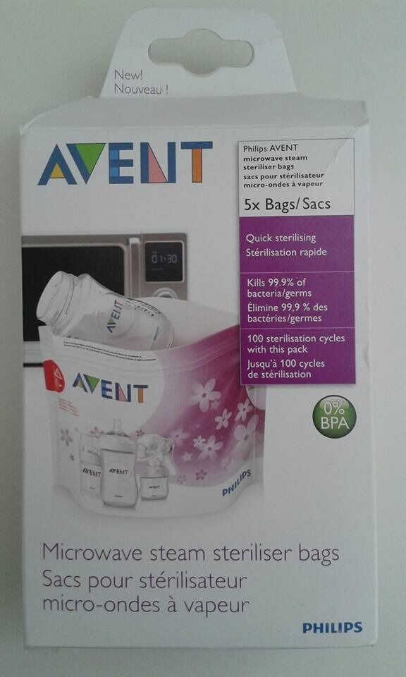 Avent microwave steam steriliserin Stowmarket, SuffolkGumtree - Avent microwave steam steriliser Opened box but never used, was £10 Buyers collect from Stowmarket. Avent microwave steam steriliser Opened box but never used, was £10 Buyers collect from Stowmarket