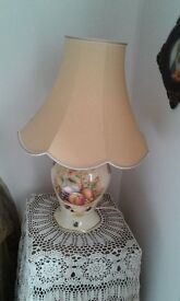 AYNSLEY ORCHARD GOLD LAMP