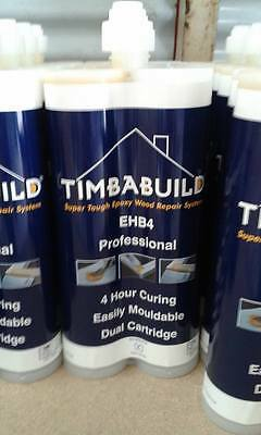 chemfix timbabuild EHB4 2 part thixotropic epoxy resin wood filler.
