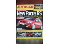 AUTOCAR MAGAZINE # FOCUS RS # JAN 2008 EDITION # LOTS MORE MAGS AVAILABLE *BRAND NEW CONDITION