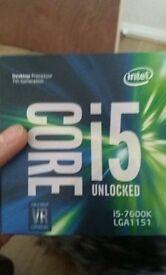 Intel Core i5-7600K 3.8 GHz QuadCore 6 MB Cache CPU