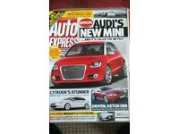 AUTO EXPRESS MAGAZINE # AUDI METRO # OCT 2007 # LOADS MORE MAGS AVAILABLE # BRAND NEW CONDITION