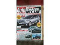 AUTO EXPRESS MAGAZINE # RENAULT MEGANE # JUL 2007 # LOADS MORE MAGS AVAILABLE # BRAND NEW CONDITION