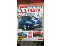 AUTO EXPRESS MAGAZINE # FIESTA RS # MAR 2008 # LOADS MORE MAGS # BRAND NEW CONDITION