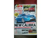 AUTO EXPRESS MAGAZINE # VAUXHALL CALIBRA # JUL 2007 # LOADS MORE MAGS AVAILABLE #BRAND NEW CONDITION