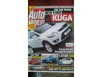 AUTO EXPRESS MAGAZINE # FORD KUGA # SEP 2007 # LOADS MORE MAGAZINES AVAILABLE # BRAND NEW CONDITION