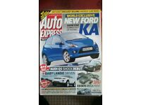 AUTO EXPRESS MAGAZINE # FORD KA # FEB 2008 # LOADS MORE MAGS AVAILABLE # BRAND NEW CONDITION