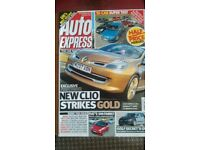 AUTO EXPRESS MAGAZINE # RENAULT CLIO # AUG 2007 # LOADS MORE MAGS AVAILABLE # BRAND NEW CONDITION